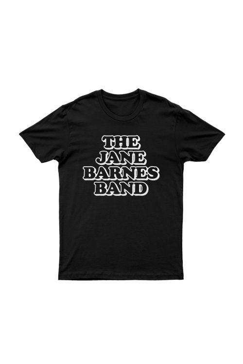 Jane Barnes Band' Black Tshirt by Jimmy Barnes