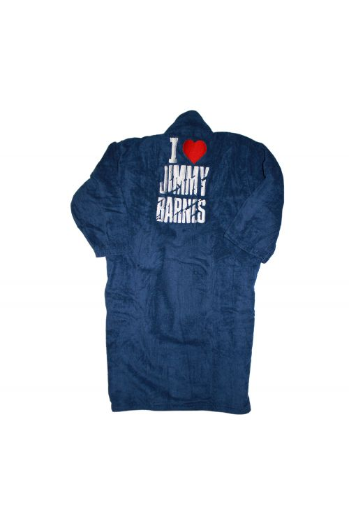 'I Love Jimmy Barnes' Robe + Slippers by Jimmy Barnes