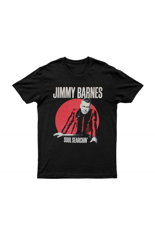Black 'Soul Searchin' Tour T-shirt by Jimmy Barnes