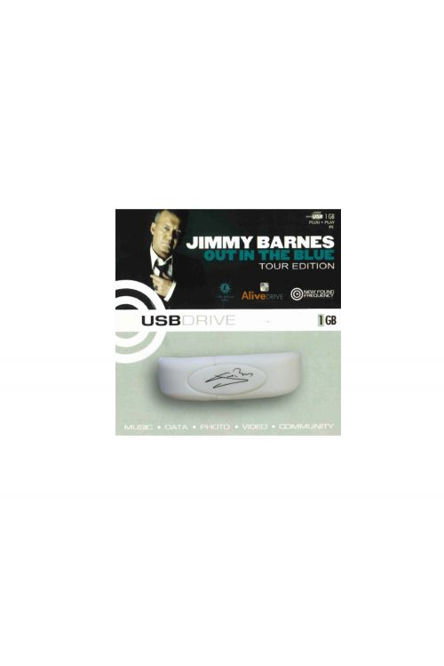 Out in the Blue / Live at the Playroom 84 - 1 GB USB bracelet by Jimmy Barnes