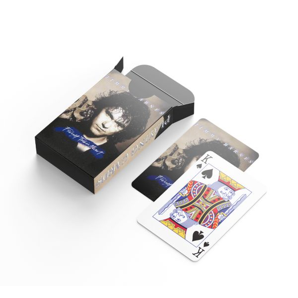 Freight Train Heart Playing Cards